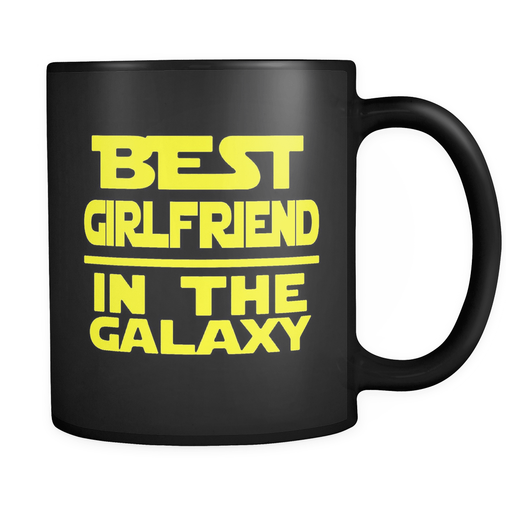 Best Girlfriend Black Mug