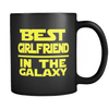 Image of Best Girlfriend Black Mug