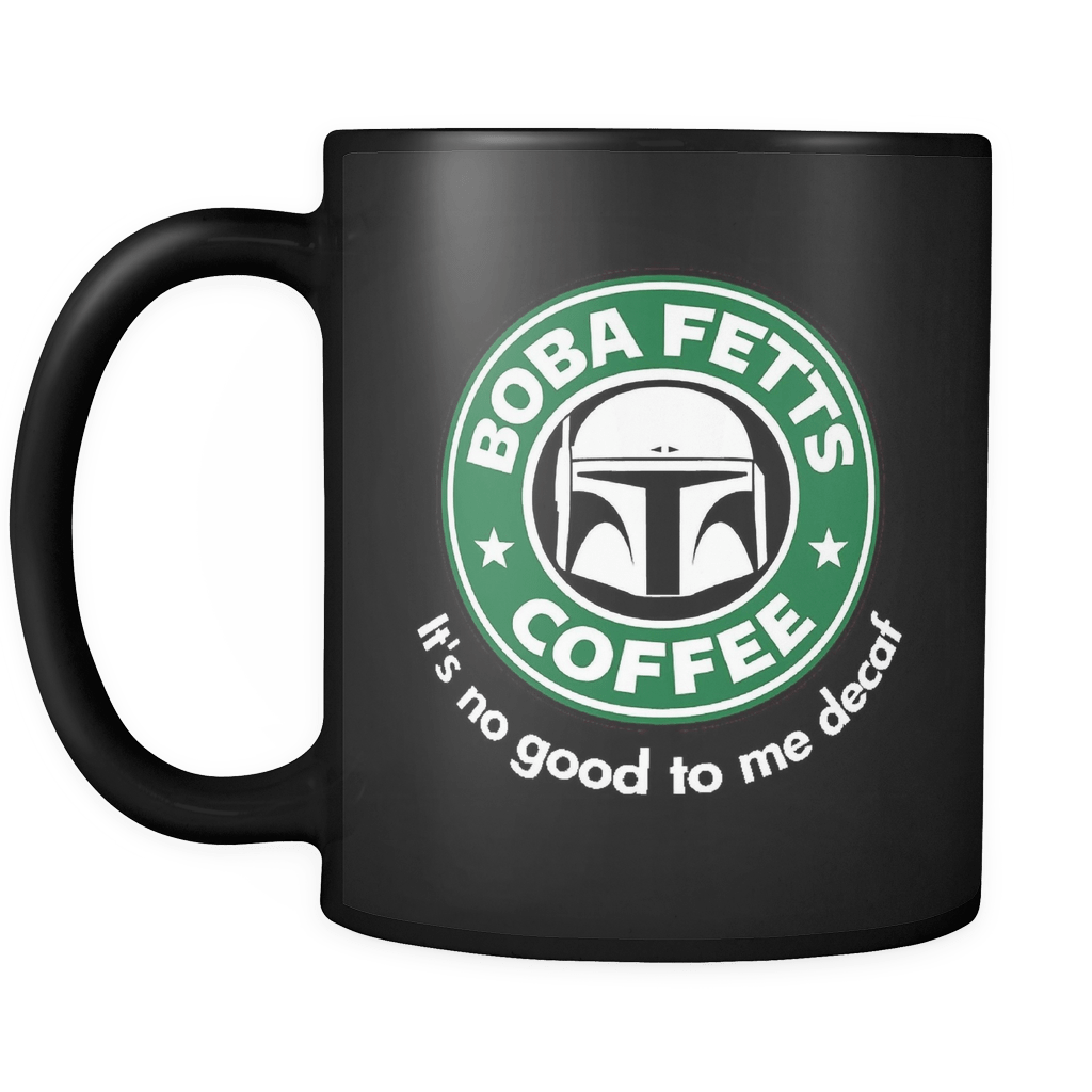 Fett's Coffee Mug Black