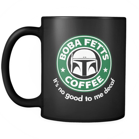 Image of Fett's Coffee Mug Black