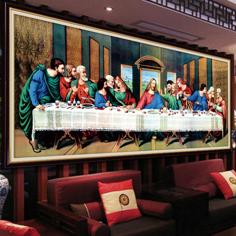 The Last Supper DIY 5D Diamond Painting