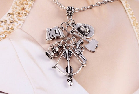 Image of WD Charm Necklace