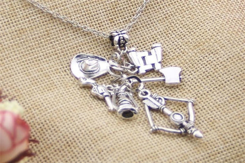 WD Charm Necklace