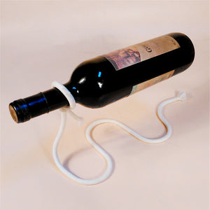 Chain Link Metal Wine Rack