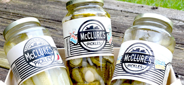 mcclures charitable giving pickles