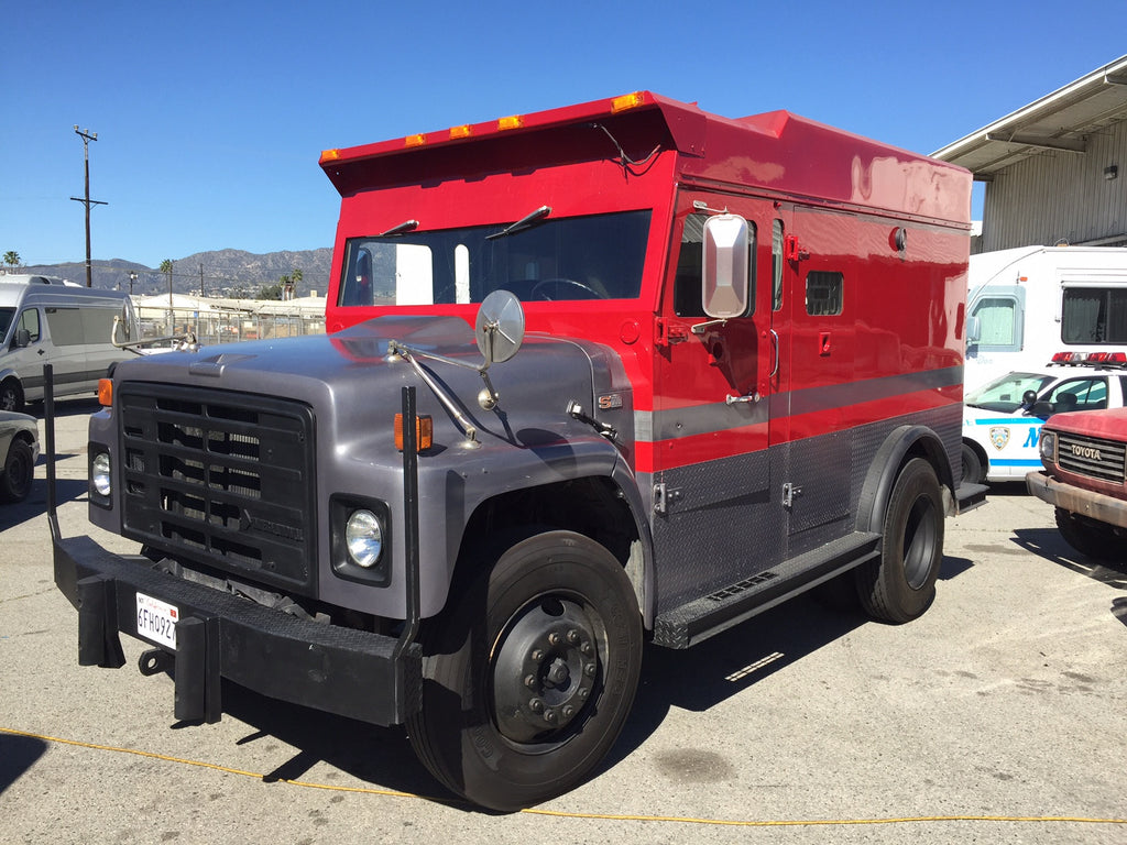 1990 International Armored Truck