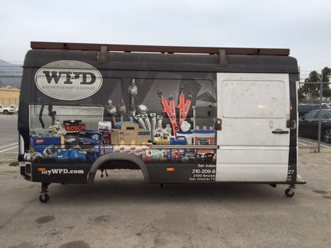 2009 Mercedes Benz Sprinter Cargo Van Buck