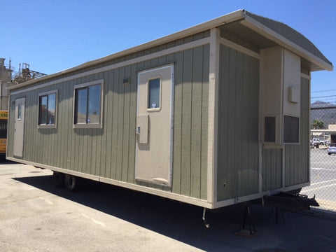 2000 Office trailer/Mobile Set piece with Wild Wall