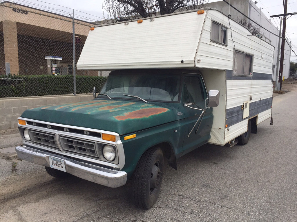 1977 ford f350 camper moviemachines. Black Bedroom Furniture Sets. Home Design Ideas
