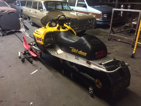 2001 Ski Doo Summit Snowmobile