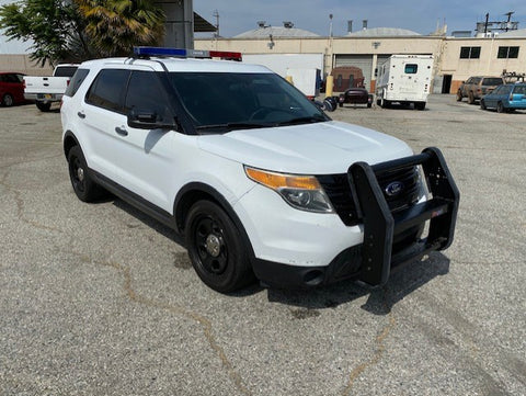 2014 Ford Explorer Police SUV (Double)