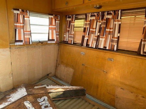 1968 Holiday Rambler Travel Trailer