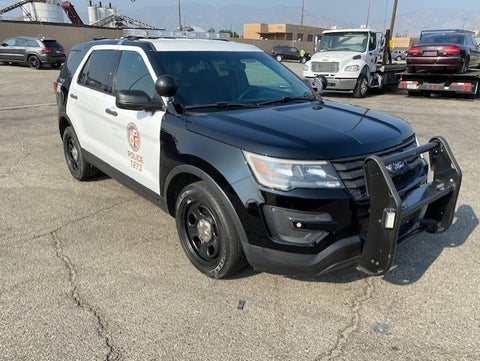 2016 Ford Explorer Police SUV (Double)