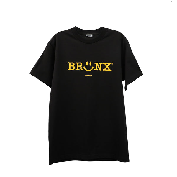 Bronx Smiley - Black S/S