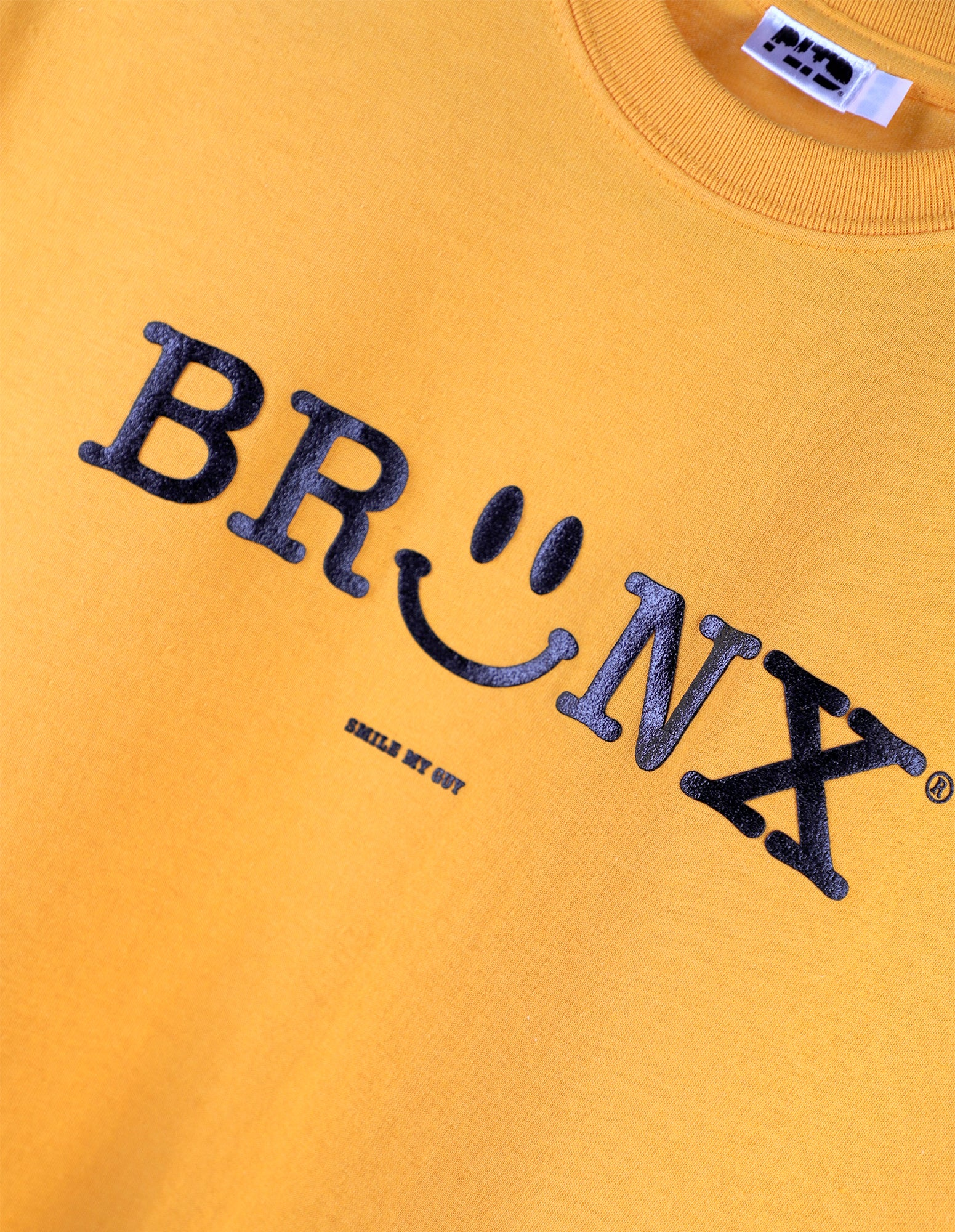Bronx Smiley - Gold S/S