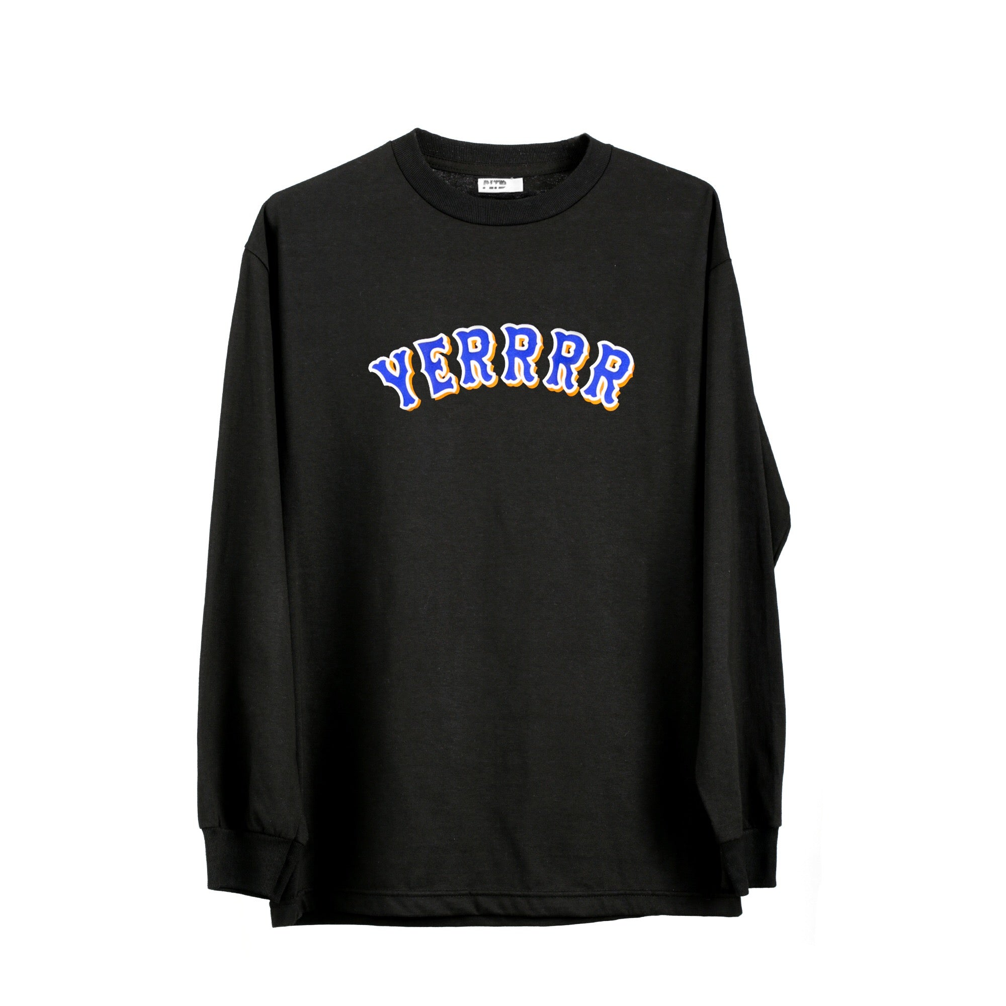 Yerrrr - Mets Alternative Black L/S