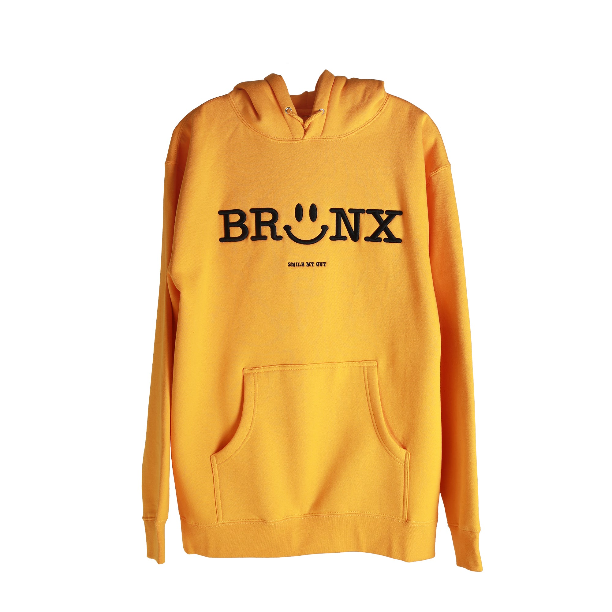 Bronx Smiley - Gold Hoodie