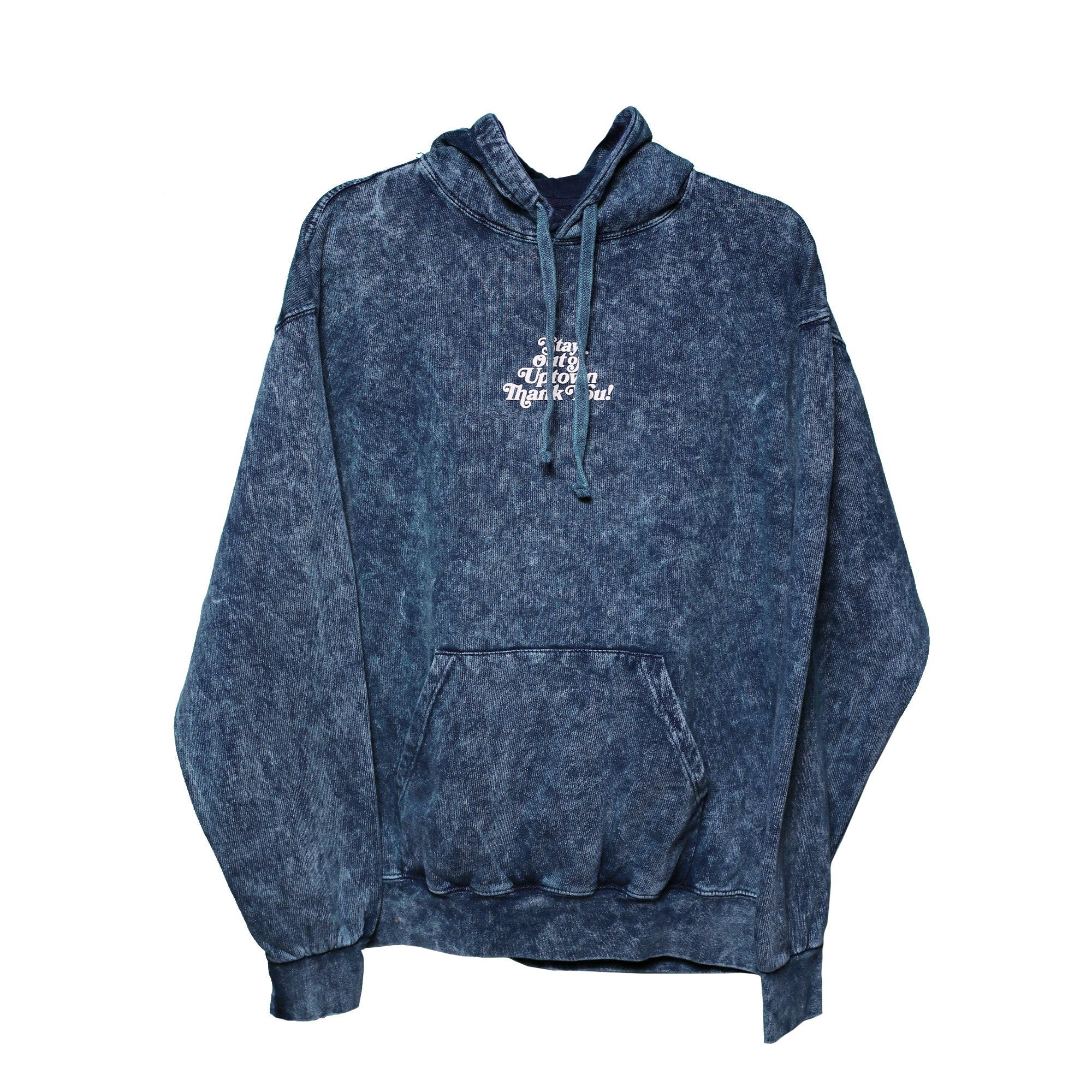 Stay Out of Uptown - Lapis Lazuli Mineral Hoodie