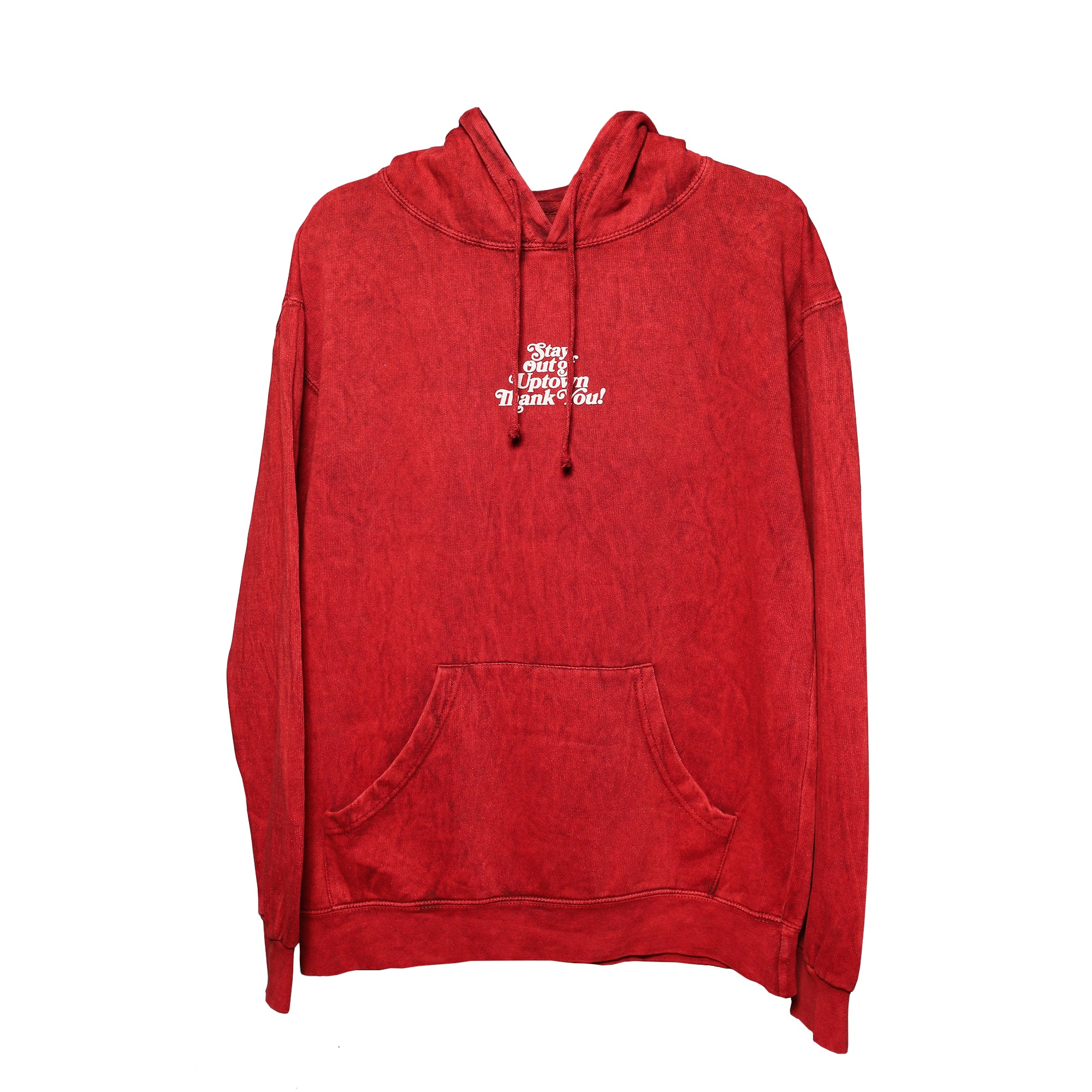 Stay Out of Uptown - Ruby Mineral Hoodie