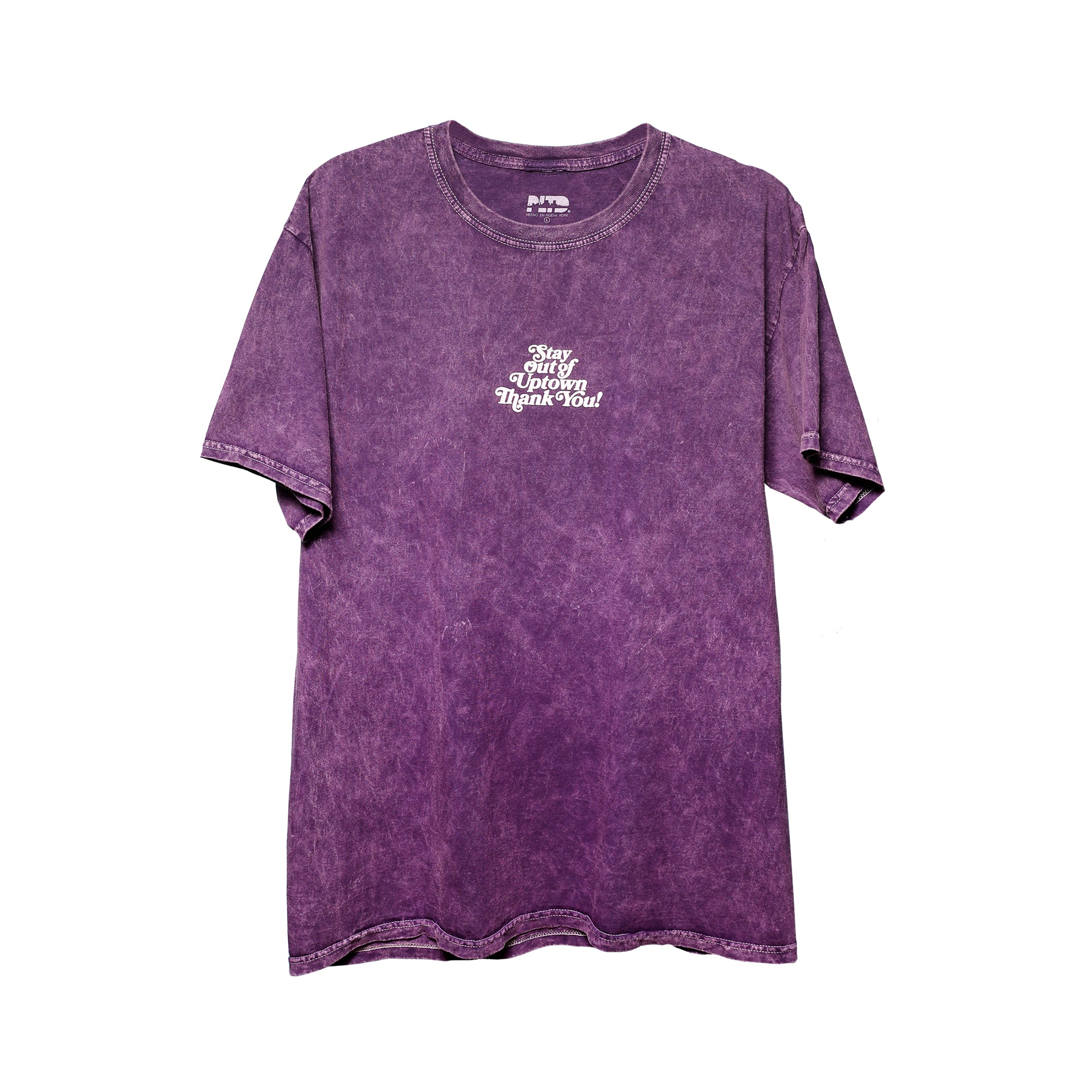 Stay Out of Uptown -  Amethyst Mineral Wash S/S