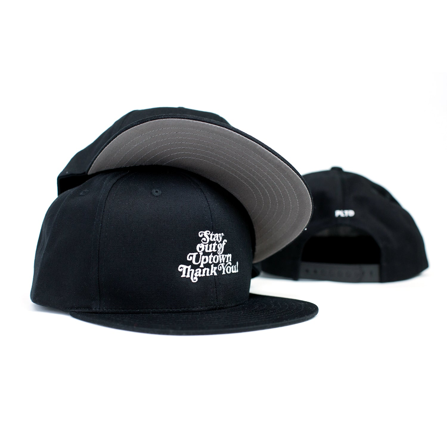 Stay Out of Uptown Snapback (Black)