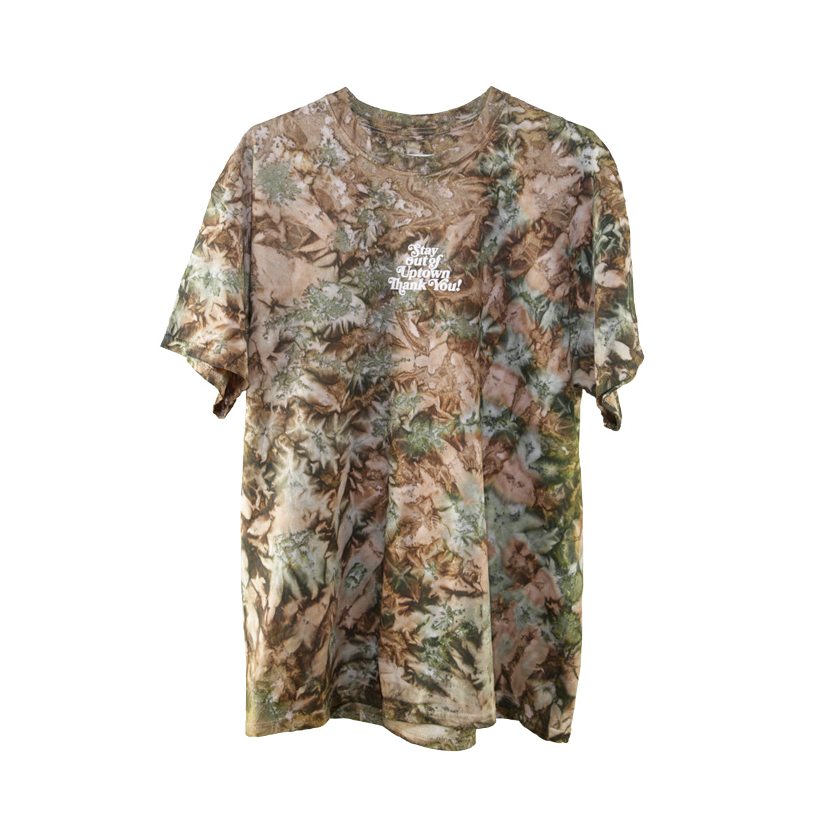 Stay Out of Uptown Tie Dye - Camo