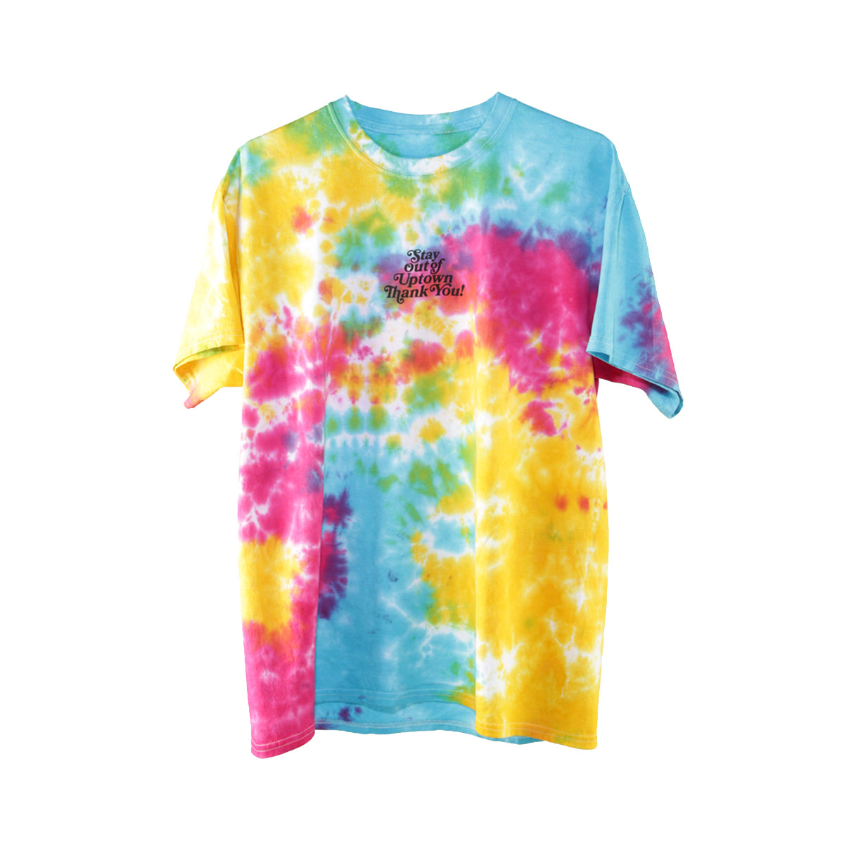 Stay Out of Uptown Tie Dye - Multi-rainbow