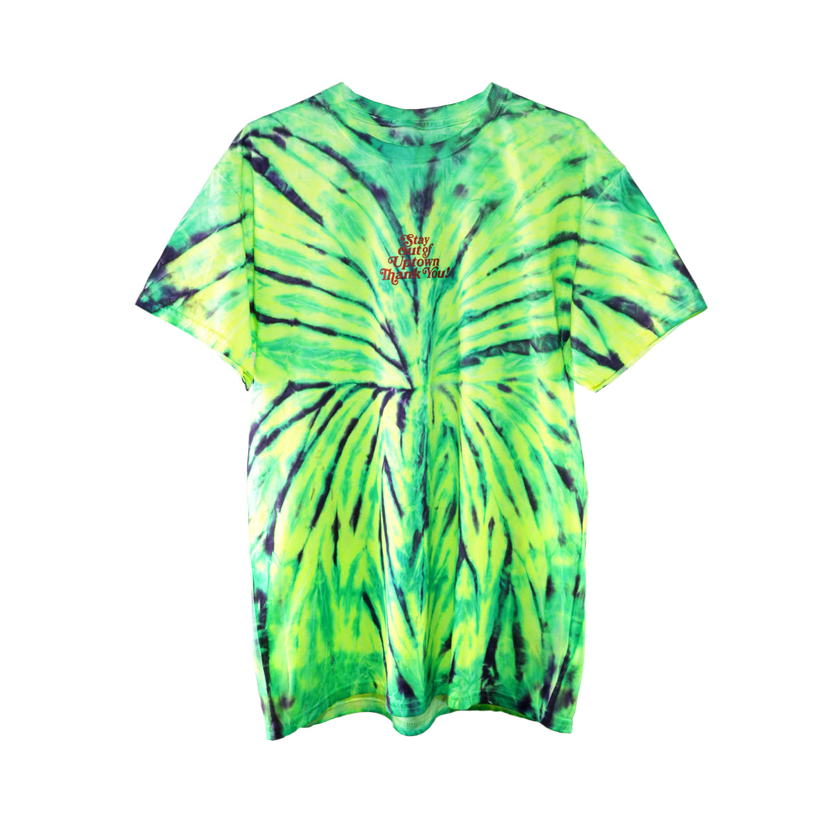 Stay Out of Uptown Tie Dye - Wild Spider