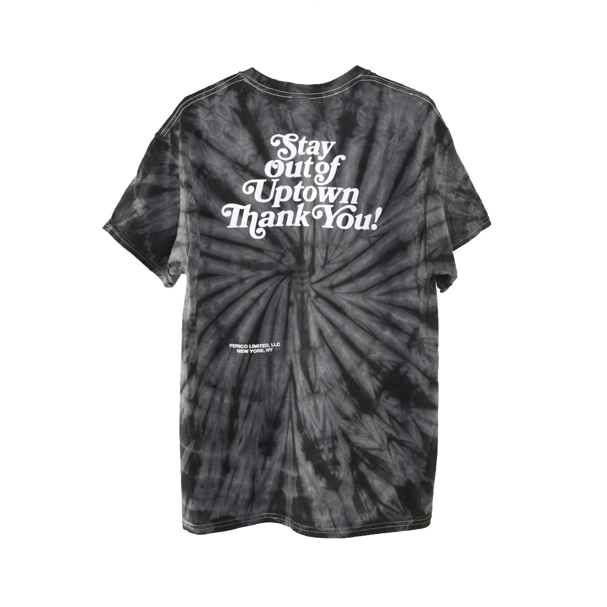 Stay Out of Uptown tie dye - Spider Black