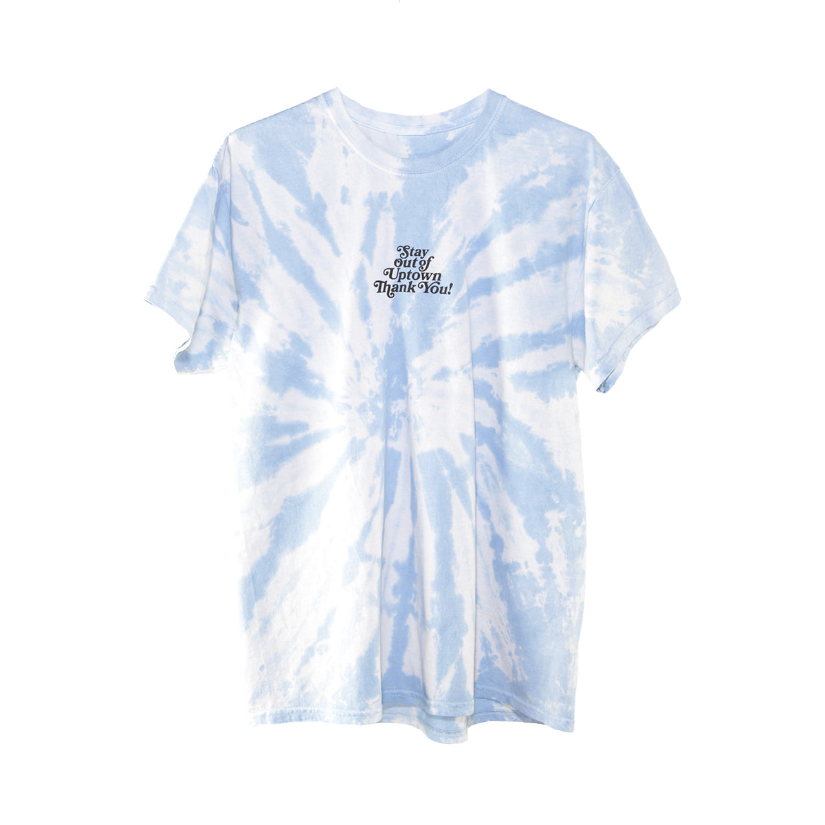 Stay Out of Uptown Tie Dye - Twisted Caroline Blue