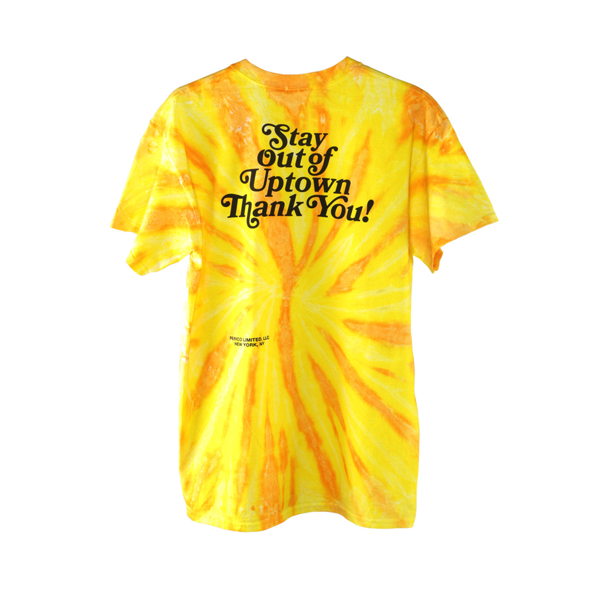 Stay Out of Uptown Tie Dye - Neon Pineapple