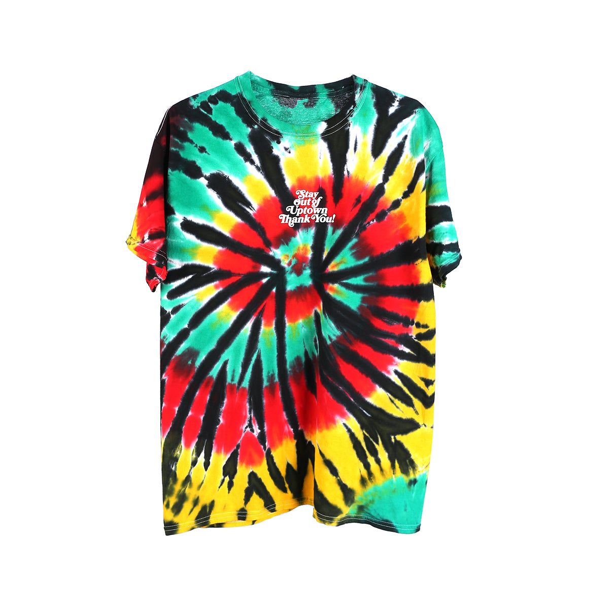 Stay Out of Uptown Tie Dye - Rasta