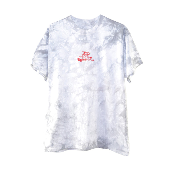Stay Out of Uptown Tie Dye - Silver Crystal