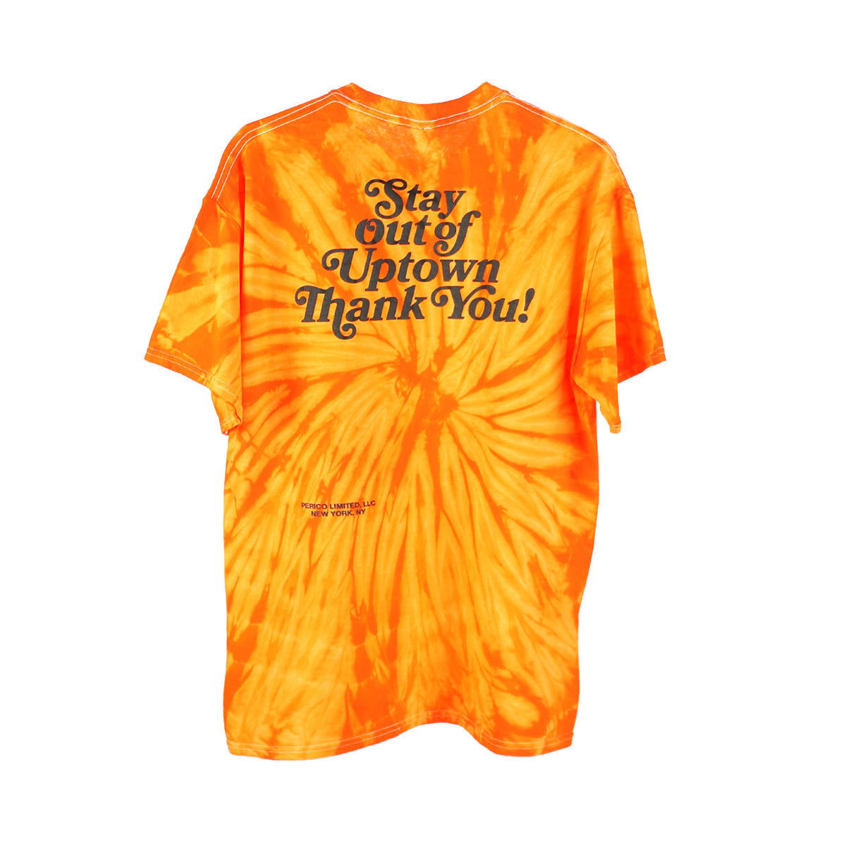 Stay Out of Uptown Tie Dye - Spider Orange