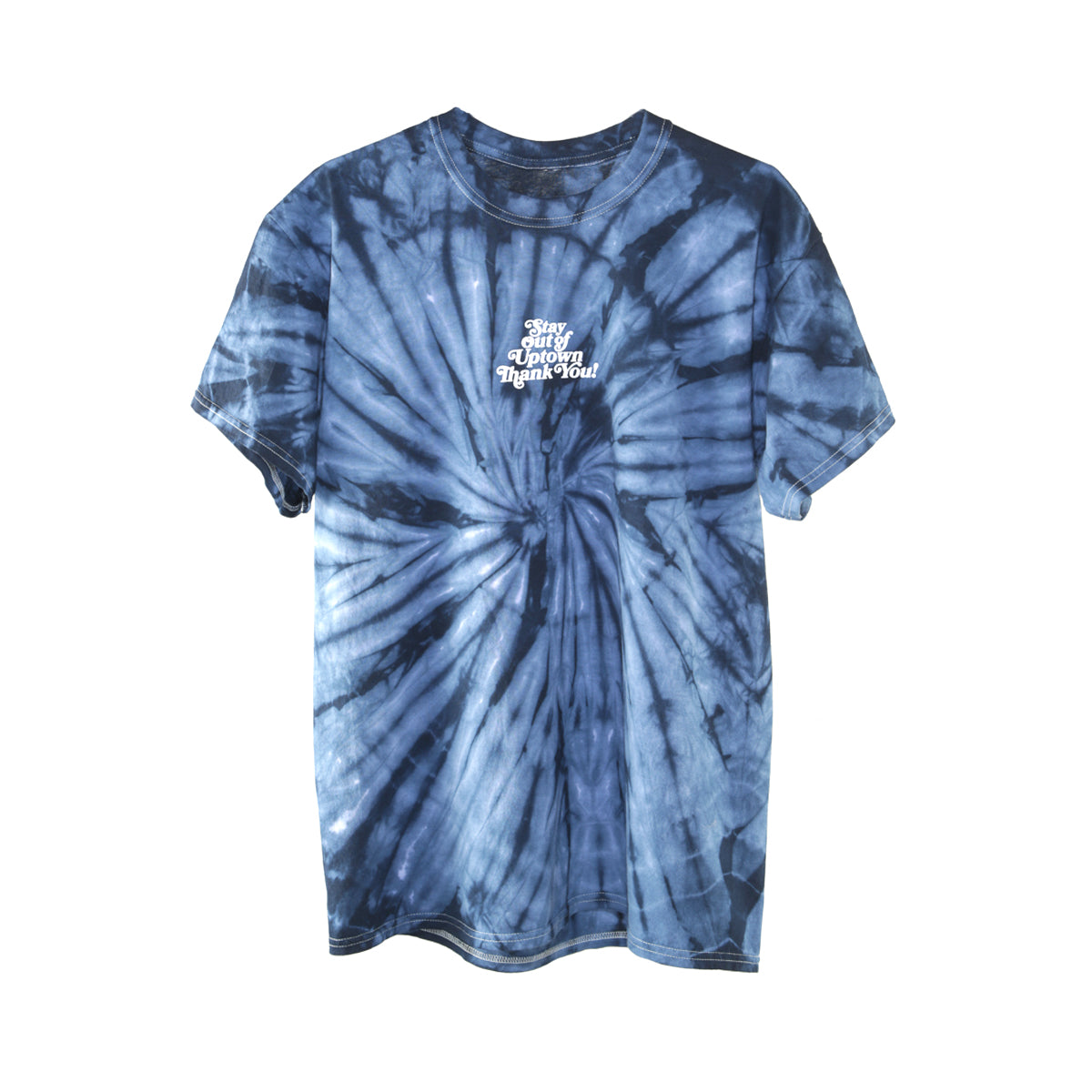 Stay Out of Uptown Tie Dye - Spider Navy