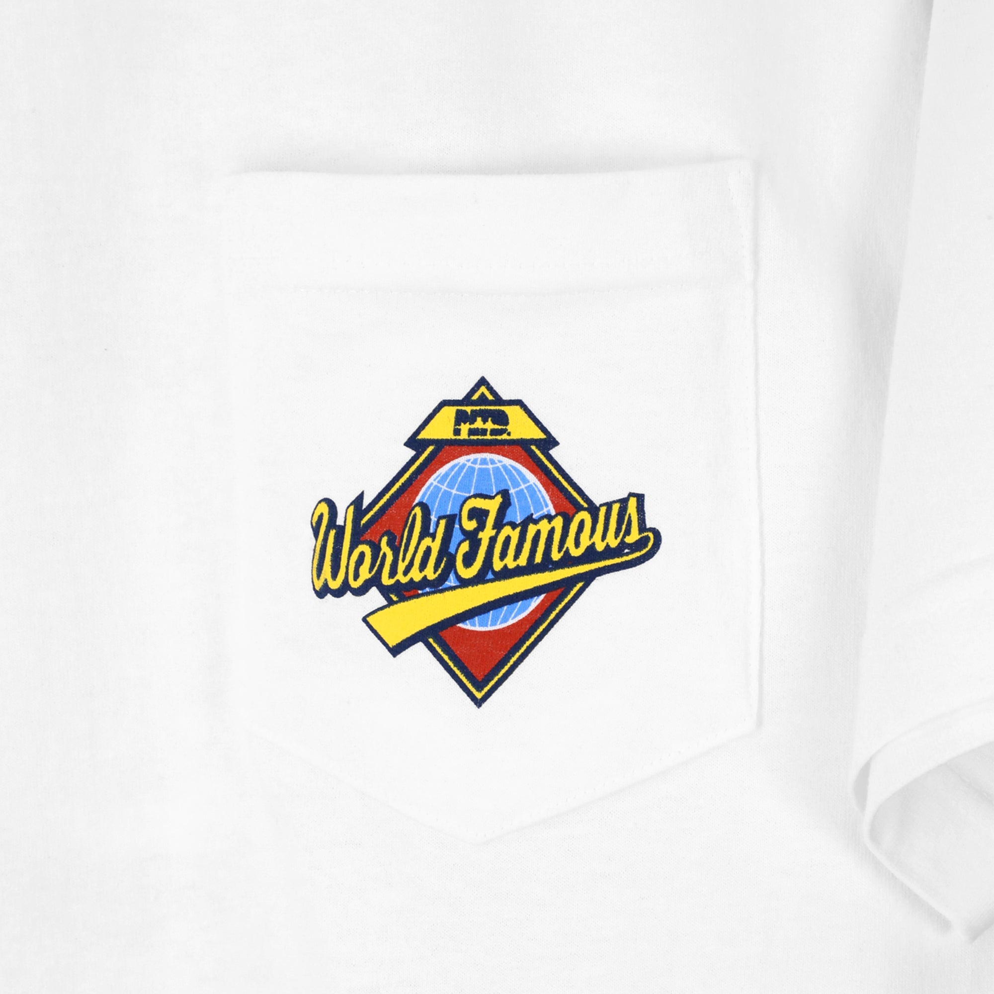 PLTD x World Famous - Mundo Pocket S/S