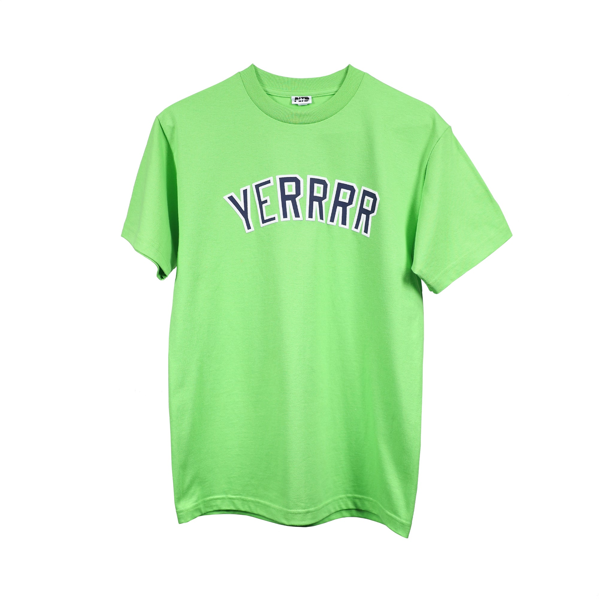 Yerrrr - Yankees Lime S/S
