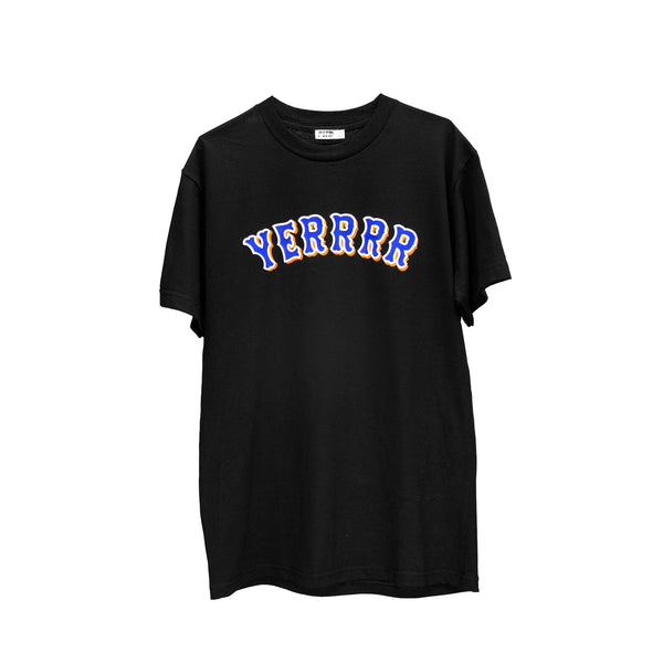 Yerrrr - Mets Alternative Black S/S