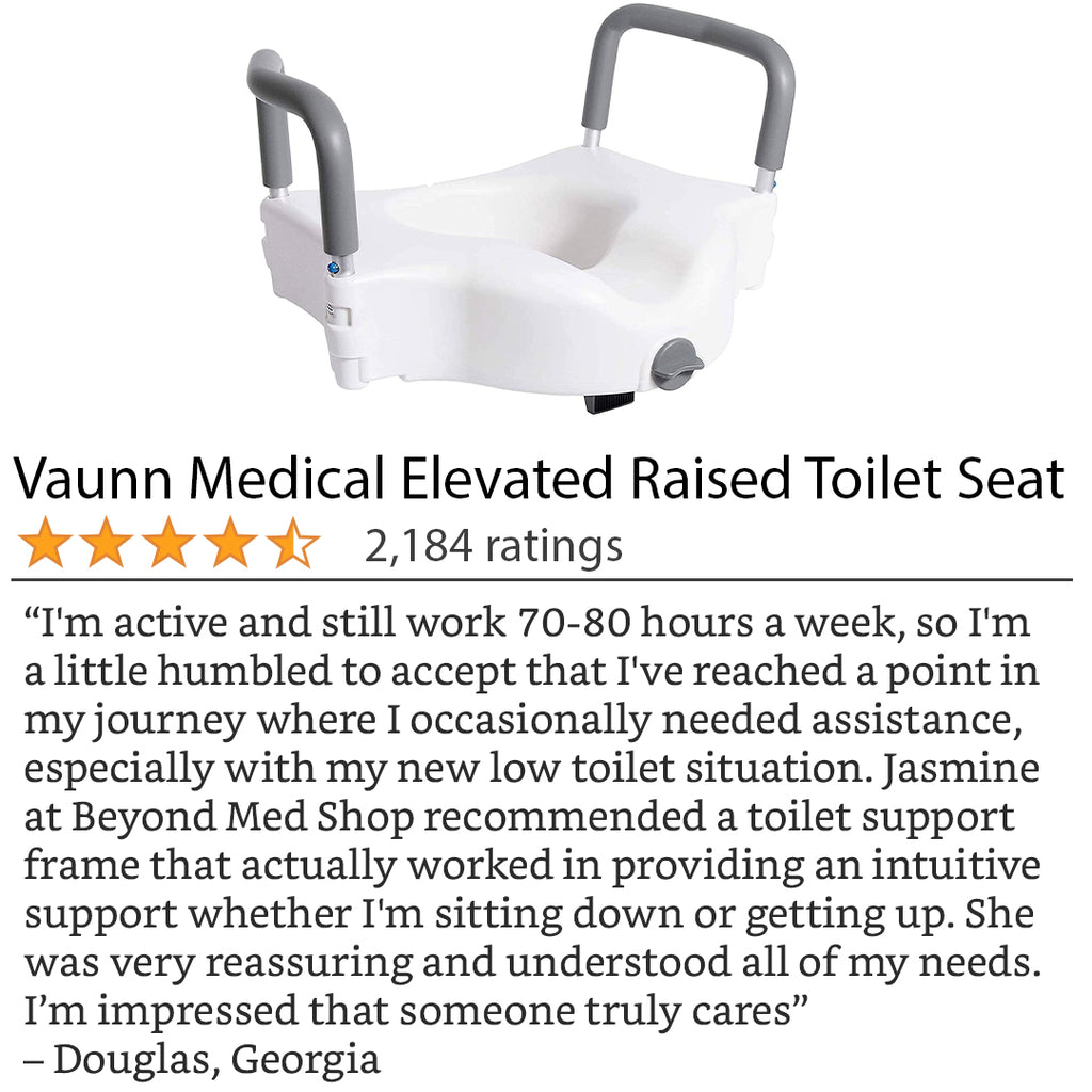 Feedback from a customer about the Vaunn Toilet Seat