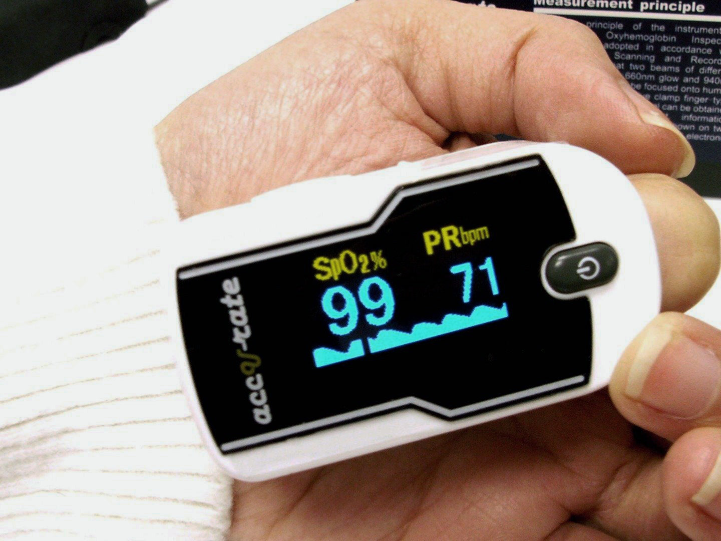 430 DL pulse oximeter