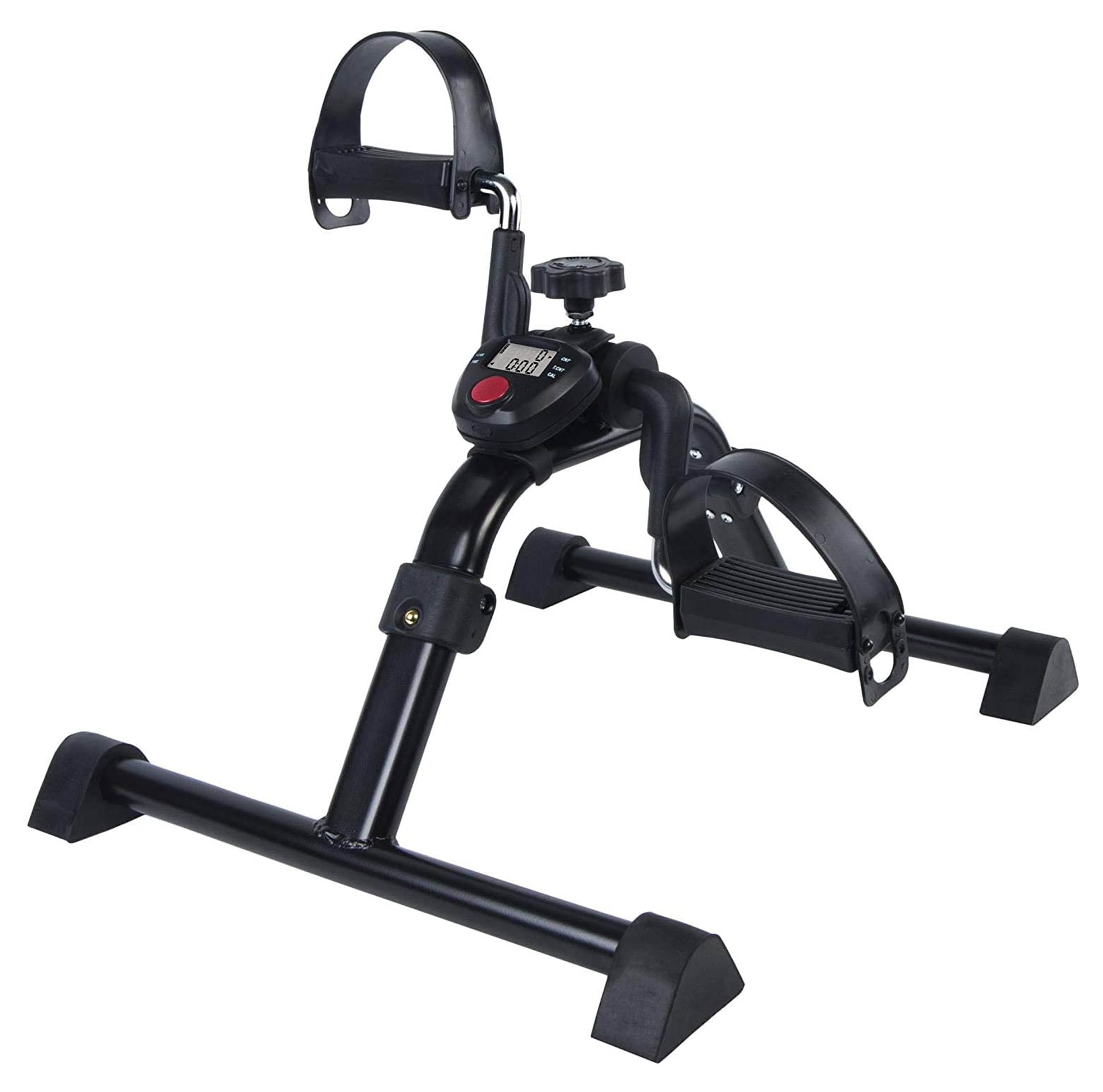 Vaunn Medical Pedal Exerciser with Electronic Display (Fully Assembled Exercise Peddler, no tools required)