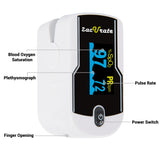 Zacurate® 430DL Premium White Deluxe Fingertip Pulse Oximeter - Med Shop and Beyond
