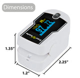 Zacurate® 430DL Premium White Fingertip Pulse Oximeter - Med Shop and Beyond