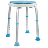 Vaunn Medical Tool-Free Assembly Adjustable Swivel Shower Bench Chair Stool - Med Shop and Beyond