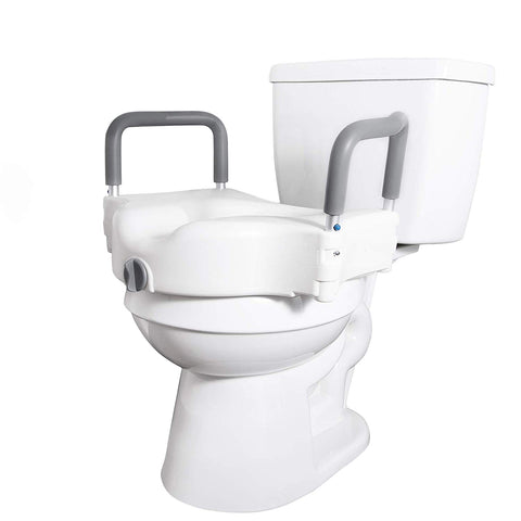 Incredible Vaunn Medical Adjustable Elevated Raised Toilet Seat And Alphanode Cool Chair Designs And Ideas Alphanodeonline