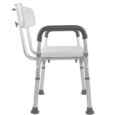 Vaunn Medical Adjustable Bath Shower Lift Chair Seat Bench With Arms Beyond Med Shop