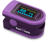Zacurate 500D Deluxe Pro Series Fingertip Pulse Oximeter - Med Shop and Beyond