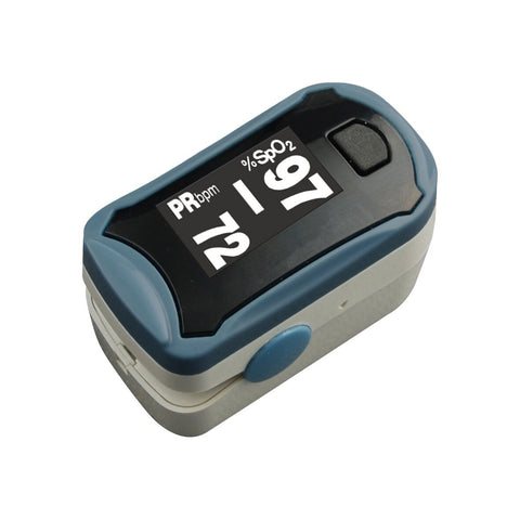 Choicemmed OLED Pulse Oximeter Fingertip, Blood Oxygen Saturation Monitor - Med Shop and Beyond