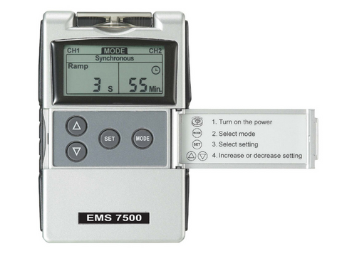 Medical Prescription EMS 7500 Digital TENS Unit for Muscle Stimulation - Med Shop and Beyond