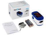 Zacurate® 500BL Fingertip Pulse Oximeter Blood Oxygen Saturation Monitor - Med Shop and Beyond